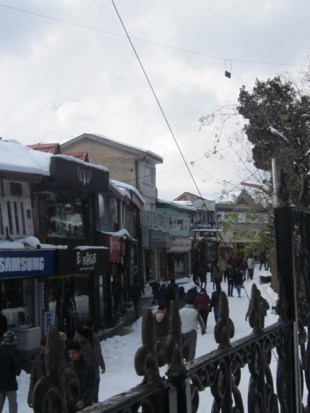 The Mall Road - Shimla